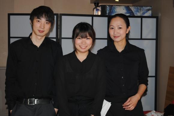 Bo Lang with Staff
